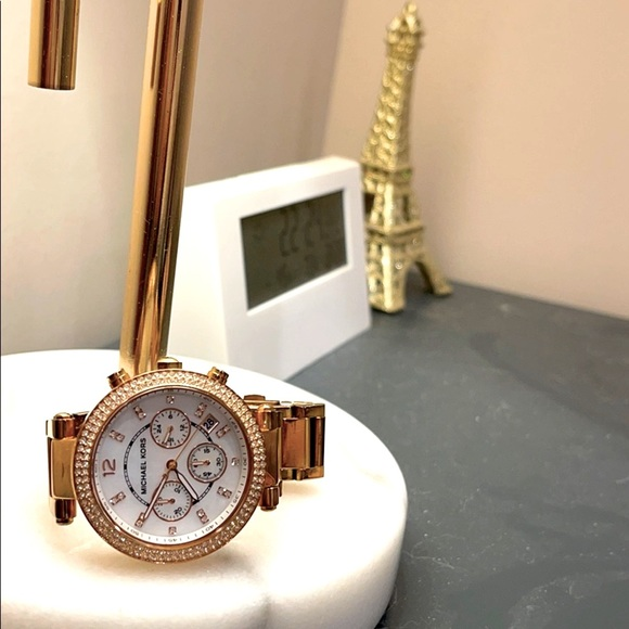 Parker Rose Gold-Tone Watch